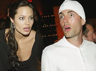 Angelina Jolie y su hermano James Haven