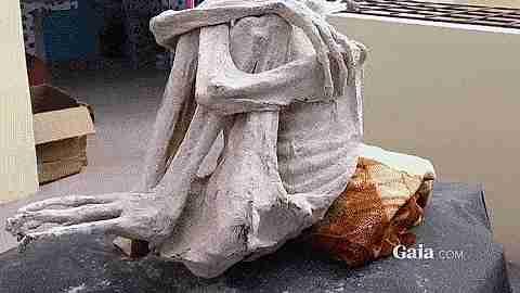 momia de Nazca, Perú