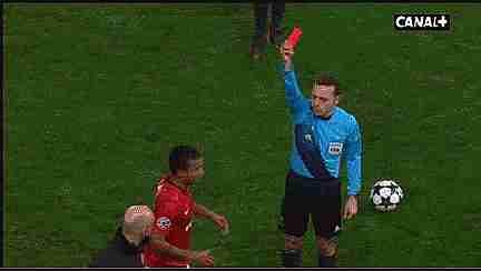 tarjeta roja