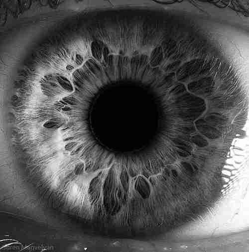 """Dilatación de pupilas por el """"efecto amor"""""""