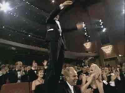 ganando el Oscar