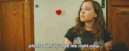 Por favor, no me juzgues ahora