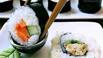 comer sushi gif
