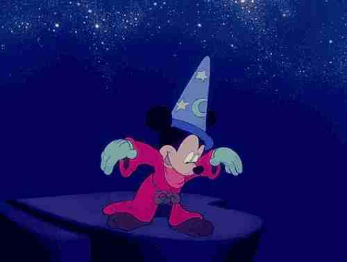 Mickey en Fantasía