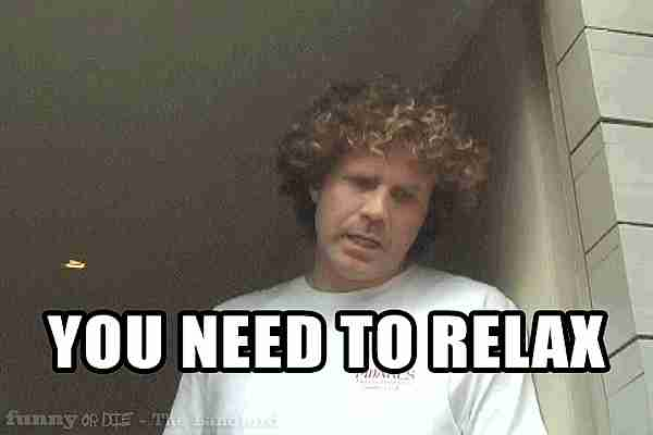 necesitas relajarte
