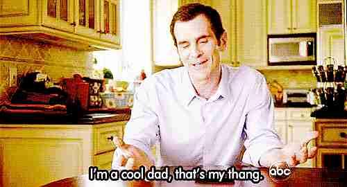 """""""Soy un padre cool, eso es lo mío"""""""