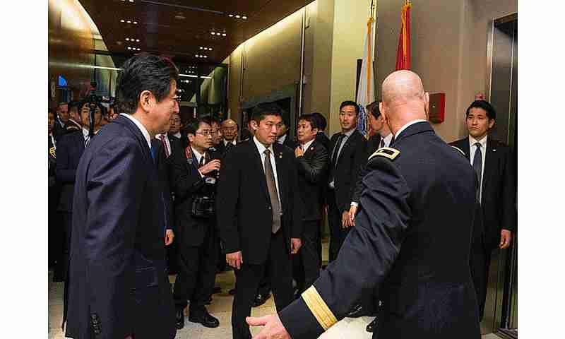 La seguridad alrededor de Abe