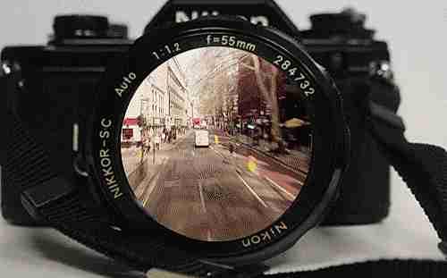 cámara moderna