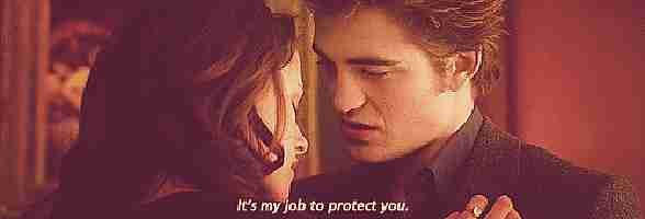 """""""Es mi trabajo protegerte"""""""
