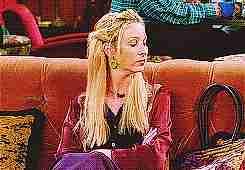 Phoebe en Friends