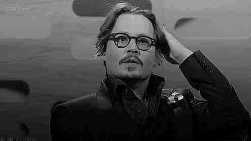 gif Johnny Depp