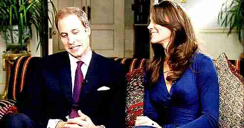El principe William y la duquesa de Cambridge Kate Middleton