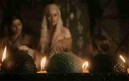 huevos de dragón