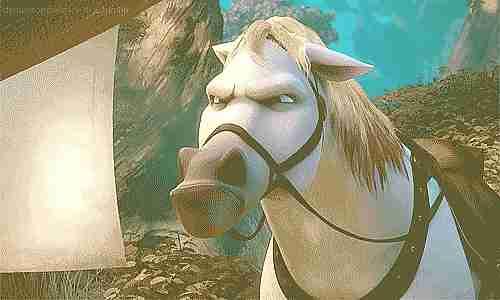 caballo de enredados