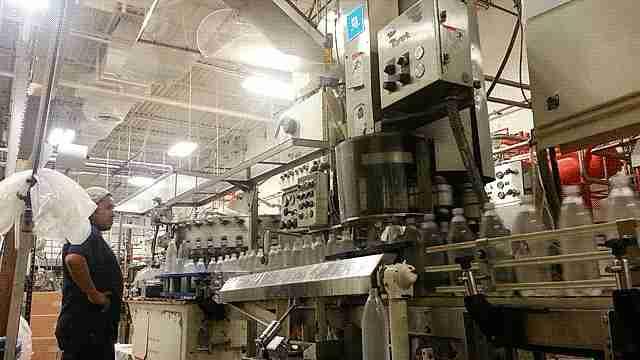 fábrica de coca cola
