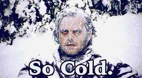 Demasiado frío