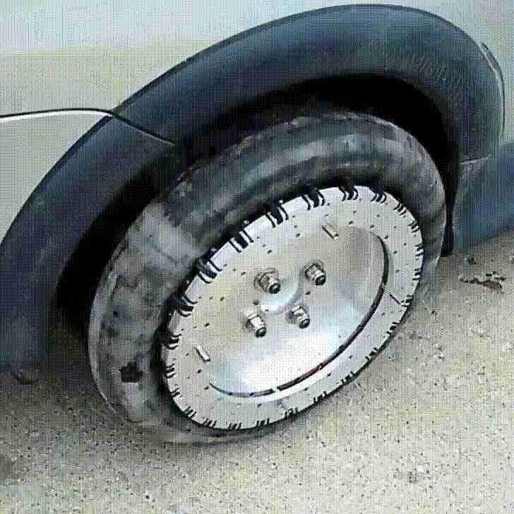 Ruedas para estacionarse fácilmente