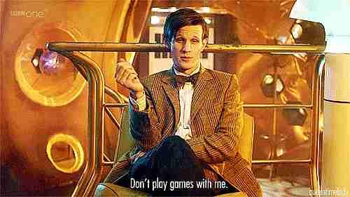 """persona diciendo """"no juegues conmigo"""""""