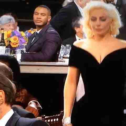 Lady Gaga y Leo Di Caprio