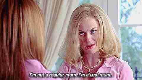 """No soy una madre regular. Soy una madre genial""."