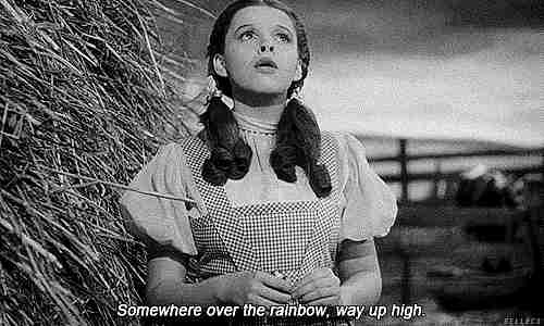 somewhere over the rainbow gif