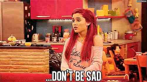 no estés triste