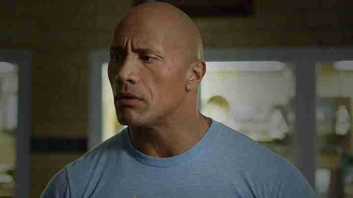 "Dwayne Johnson ""La roca"""