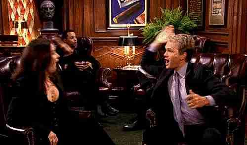 robin y barney chocando esos cinco