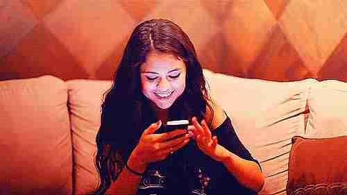 leyendo mensaje de texto
