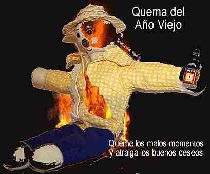 quemar al muñeco
