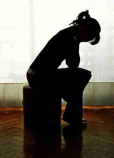 deprimida en casa