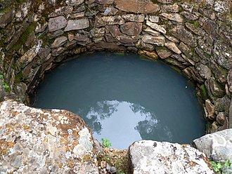 Agua en pozo