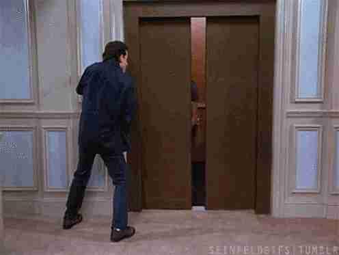 elevador cerrandose