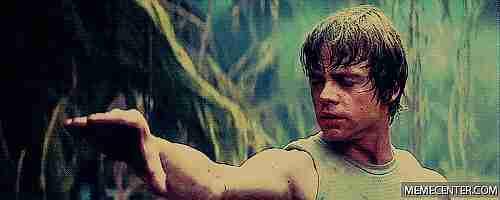Usa la Fuerza Luke