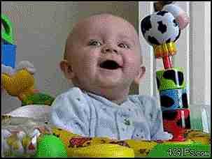 gif bebé sorprendido