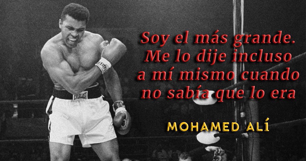 15 Frases De Mohamed Alí Que Te Cambiarán La Vida Y Te Darán