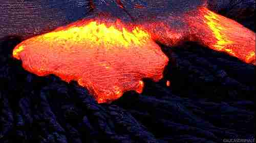 lava volcánica