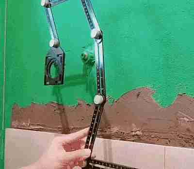 Herramienta para marcar azulejos