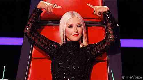 Cristina Aguilera gif