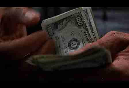 gif contando dinero