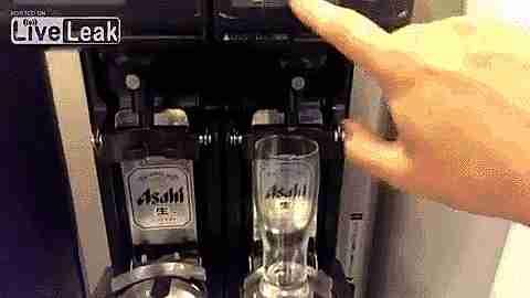 máquina de cerveza sin espuma