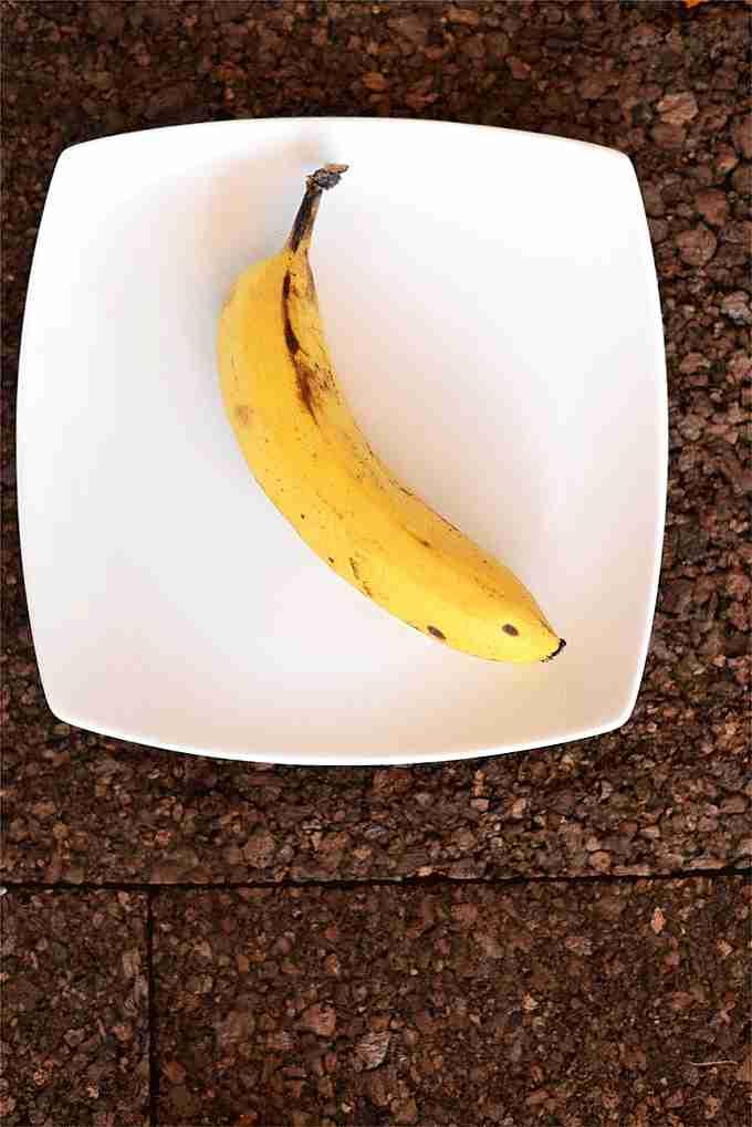 plátano machacado