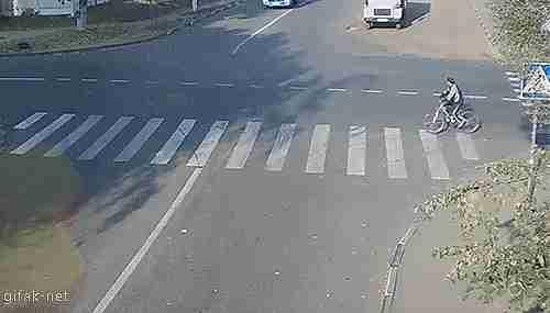 ciclista accidente