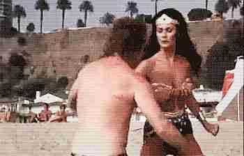 Linda Carter en la mujer maravilla.