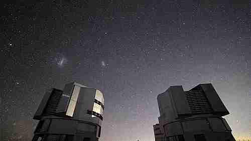 Telescopios de un observatorio