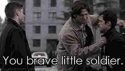 """""""Tú, pequeño soldado valiente"""""""
