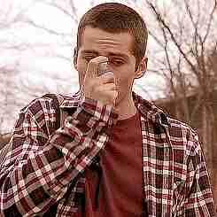 gif chico con inhalador