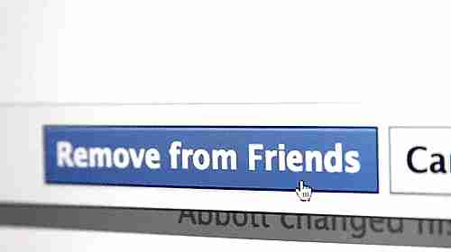 borrar de amigos en facebook