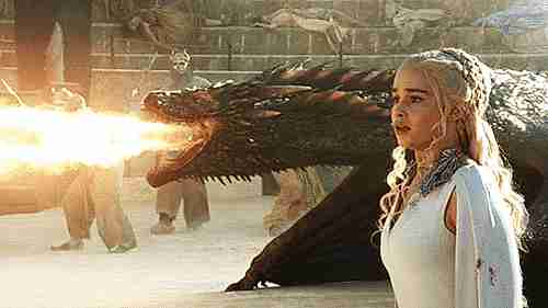 dragón de Daenerys Targaryen