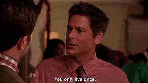 """""""Solo vives una vez"""""""